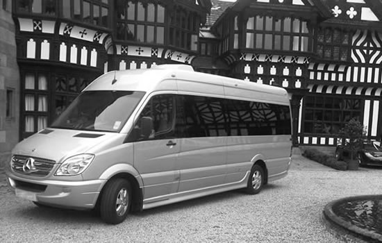 Mercedes Sprinter 8 Seater Mini Coach