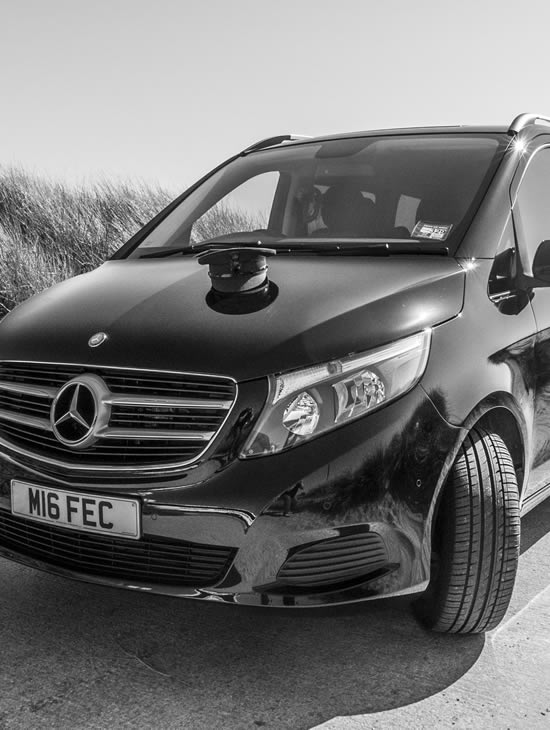 Mercedes V Class Luxury People Carrier